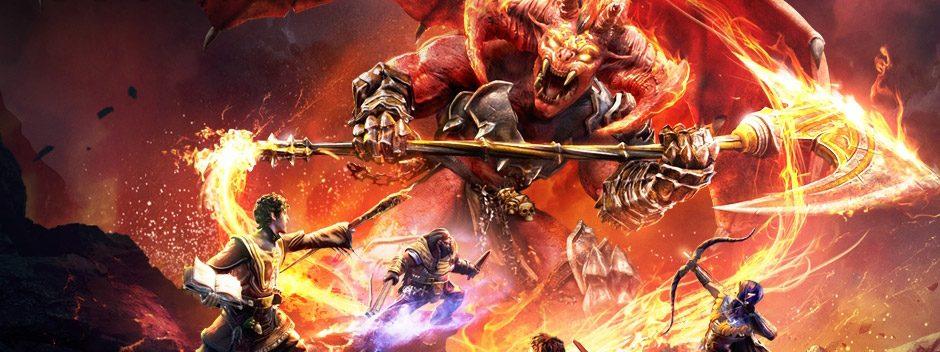Sword Coast Legends lleva las aventuras D&D a PS4 esta primavera