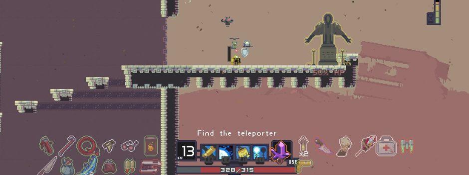 El juego de plataformas Risk of Rain estará en PS4 y PS Vita
