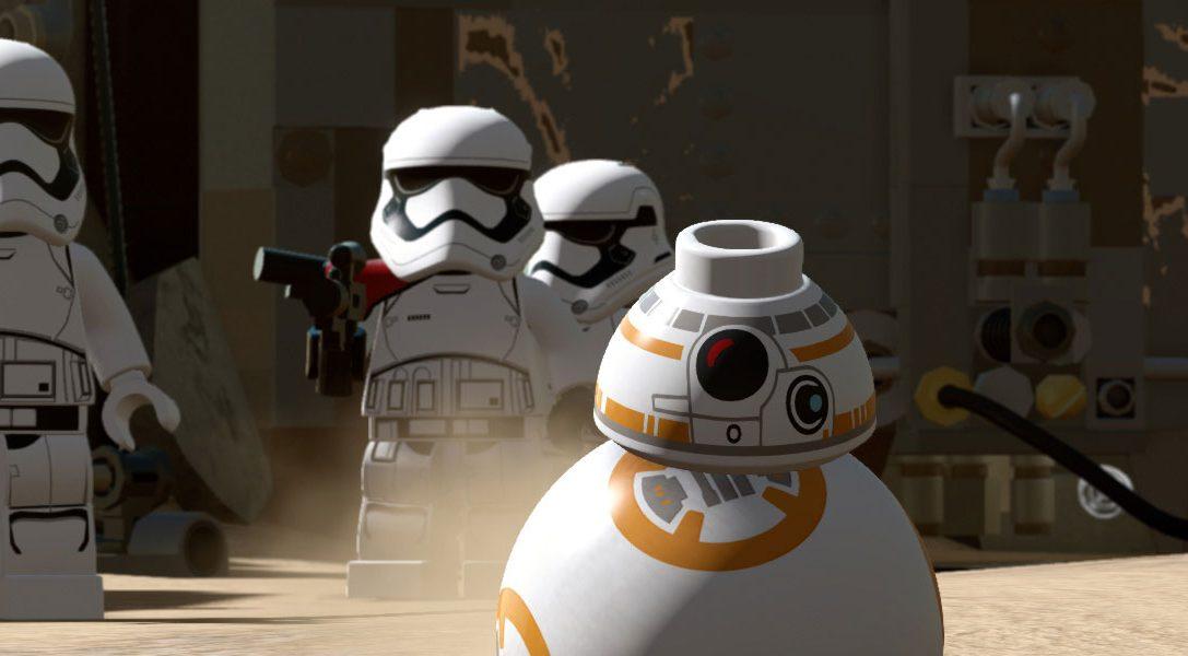 LEGO Star Wars: EL despertar de la Fuerza llegará a PS4 y PS3