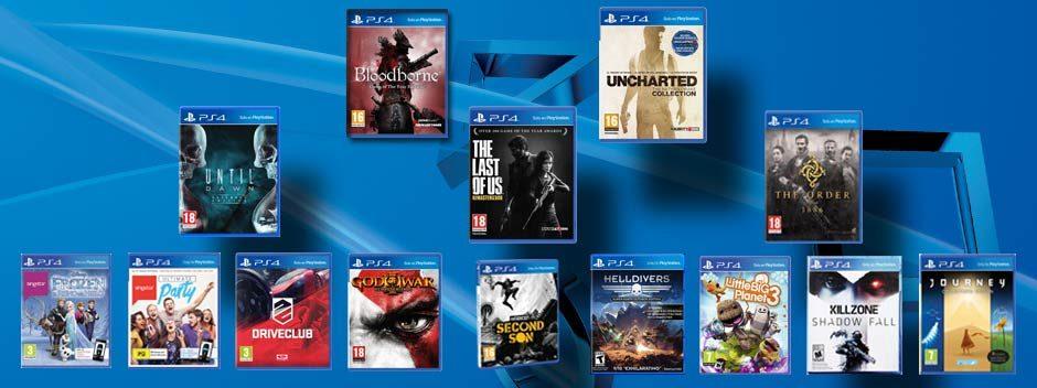 Tus juegos favoritos de PS4 bajan de precio