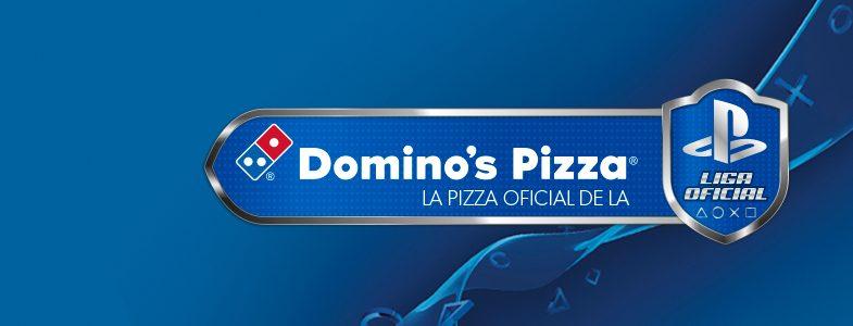 Domino's Pizza, pizza oficial de la Liga Oficial PlayStation