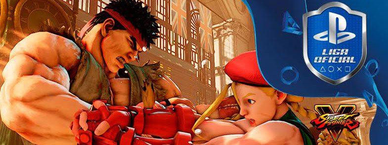 Conviértete en el mejor luchador con Street Fighter V y la Liga Oficial PlayStation