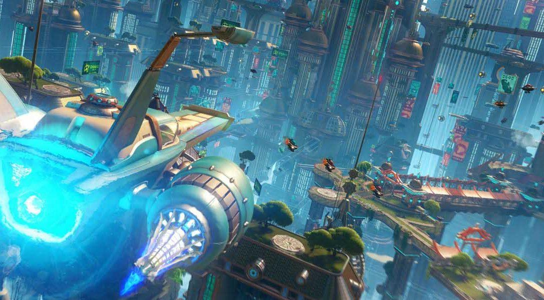 Échale un vistazo al nuevo tráiler de la historia de Ratchet & Clank