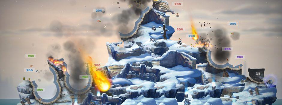 ¡Worms W.M.D llegará a PS4 este año!