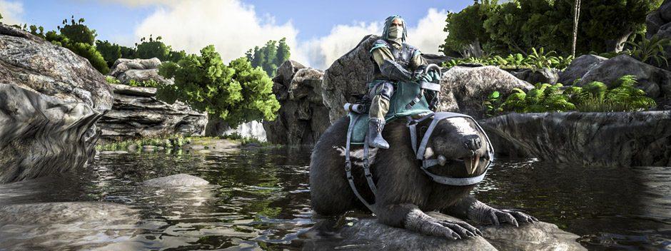 El fenómeno de combates entre dinosaurios ARK: Survival of the Fittest llegará a PS4