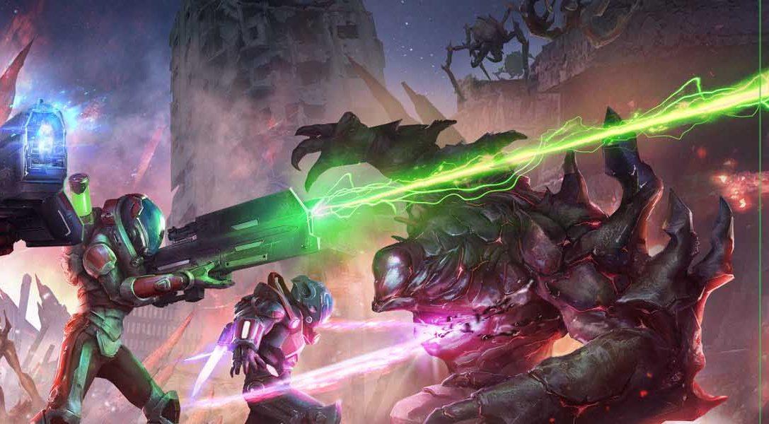 Alienation toca tierra hoy en PlayStation Store