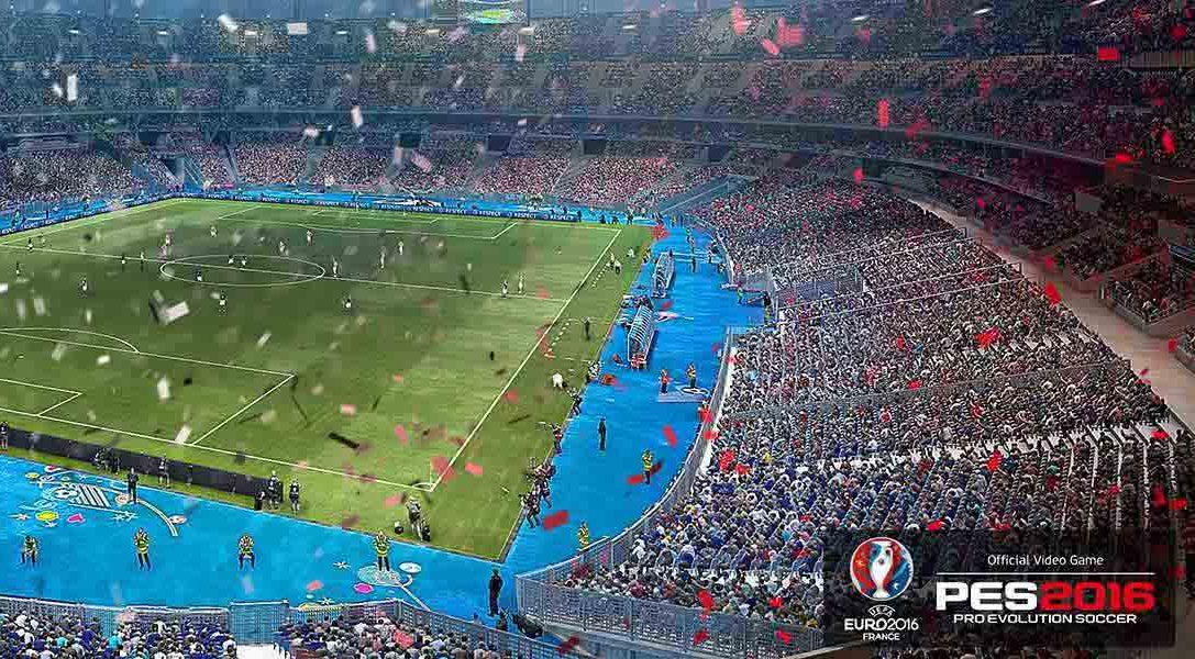 PES 2016 – UEFA Euro 2016 sale hoy a la venta en PS3 y PS4
