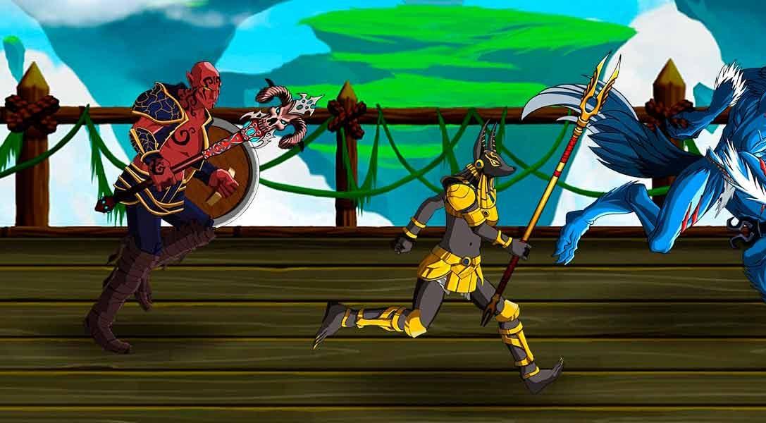 Se anuncia el beat 'em up de rol por turnos Dungeon Punks para PS4