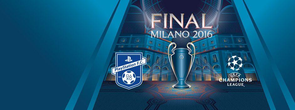 Únete a nosotros en la PlayStation F.C. Experience del UEFA Champions Festival en Milán