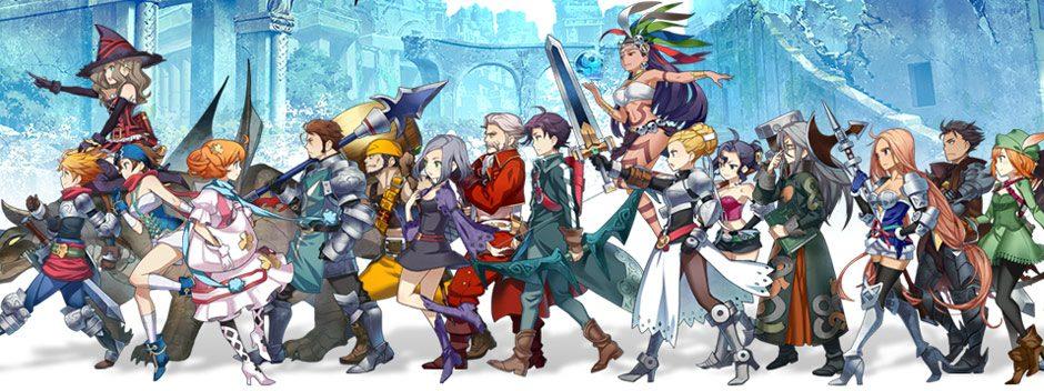 El nuevo tráiler para PS4 y PS Vita del juego del JRPG Grand Kingdom muestra las clases de personaje