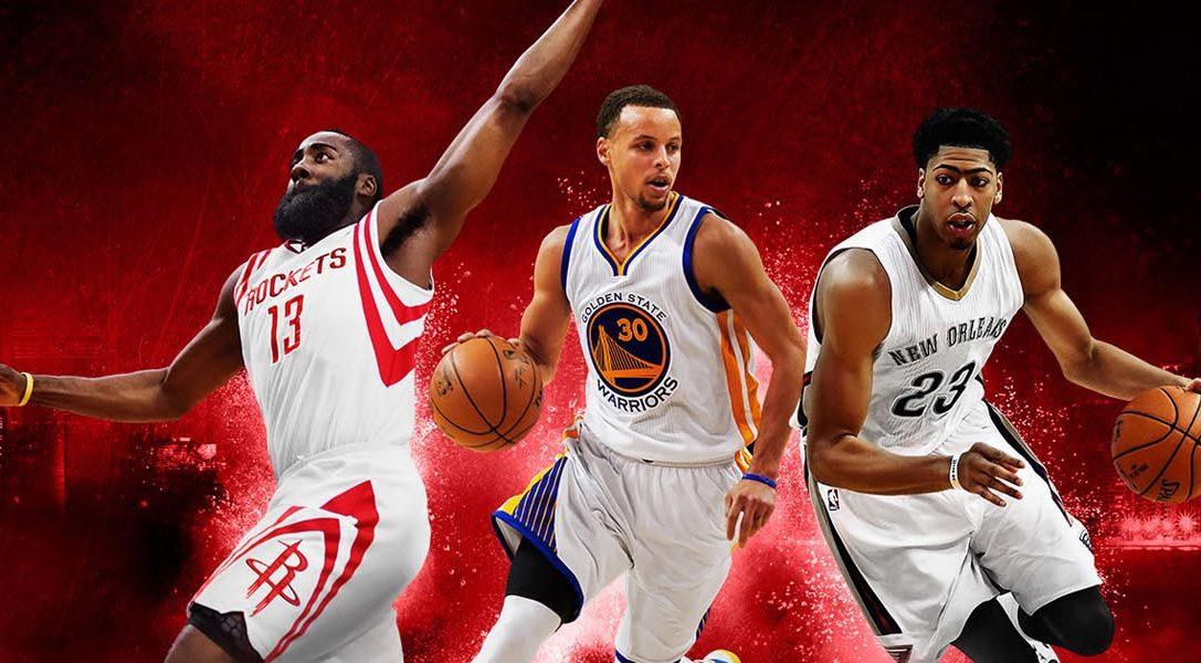En junio, márcate un triple en PlayStation Plus con NBA 2K16