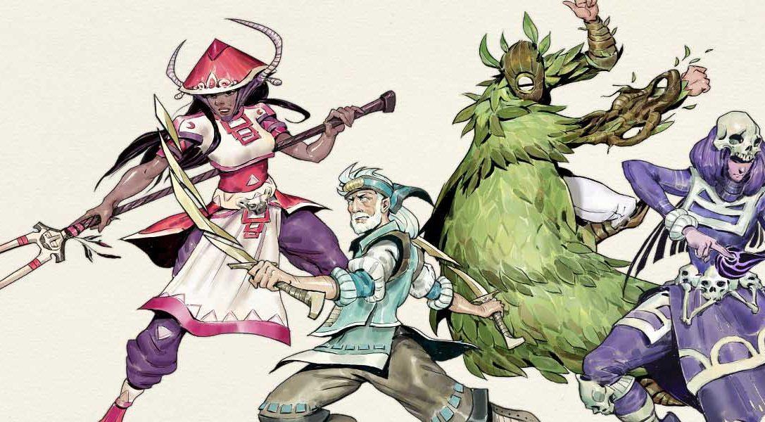 Conviértete en una leyenda con el juego de rol y acción Moon Hunters, que se publicará en julio para PS4