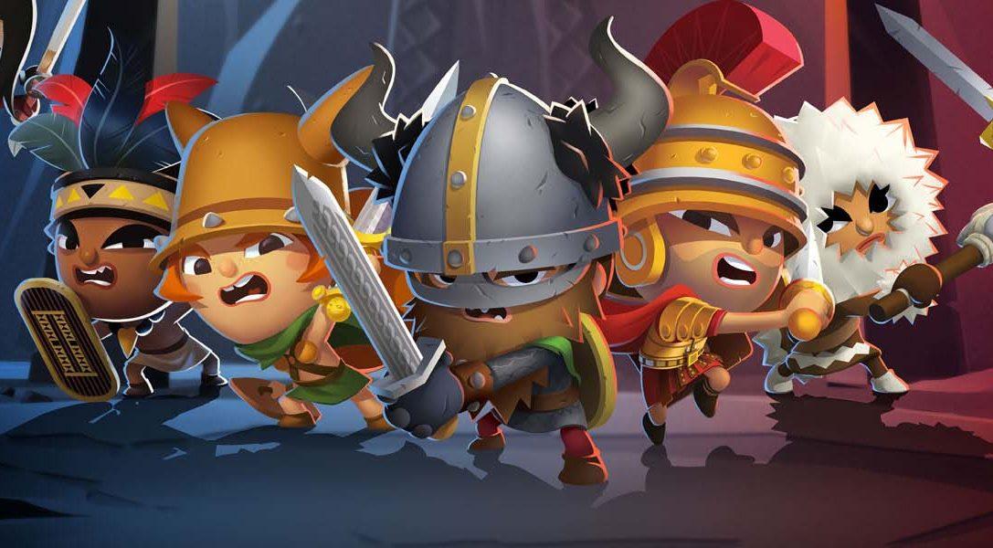 World of Warriors, de los creadores de Moshi Monsters, llegará muy pronto a PS4