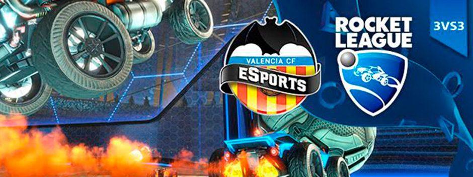Torneo especial Rocket League Valencia CF en nuestra Liga Oficial PlayStation
