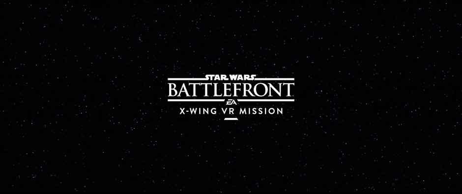 Star Wars Battlefront: X-Wing VR Mission se deja ver en el E3 – Llegará en exclusiva para PS VR