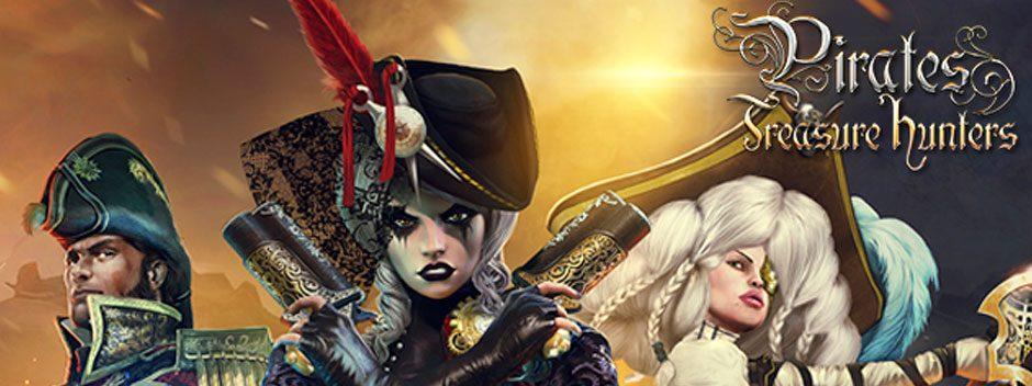 Pirates: Treasure Hunters llega hoy a PS4 con un pack especial para PlayStation Plus