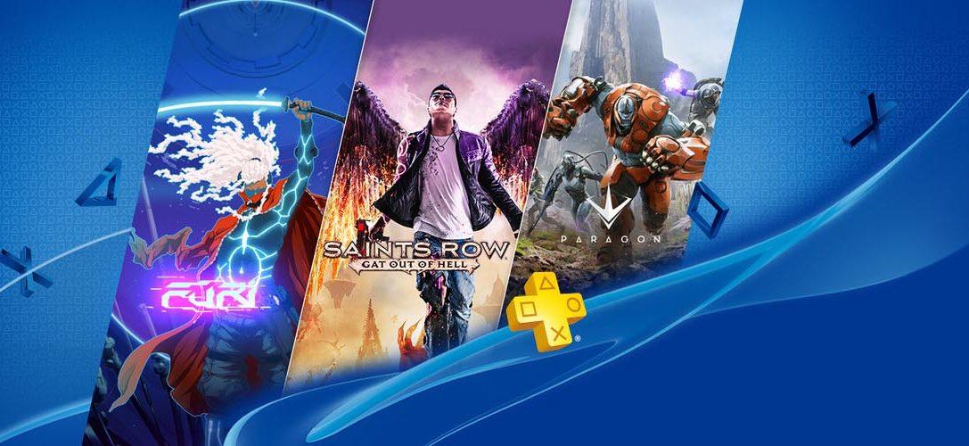 Saints Row: Gat Out Of Hell y Furi llegan a PlayStation Plus el 5 de julio