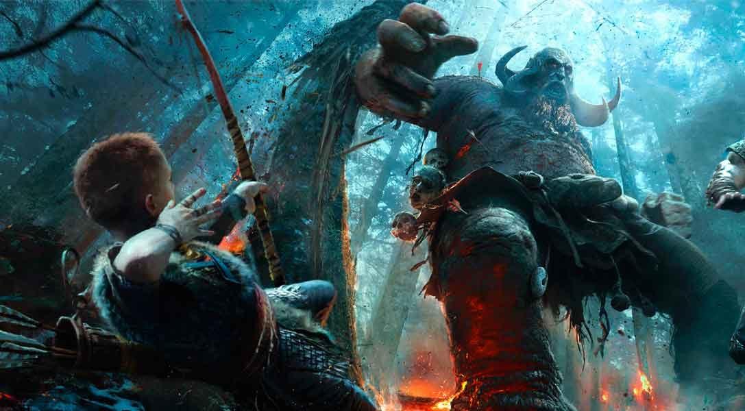 Nuevo vídeo de God of War – Un vistazo más a fondo de uno de los anuncios estrella del E3