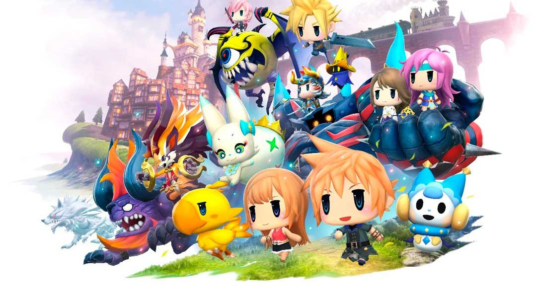 World of Final Fantasy llegará a PS4 y PS Vita en el mes de octubre