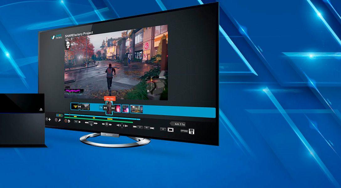 La nueva actualización de Sharefactory incluye Pista 2, pantalla verde, aumento de tiempo de exportación y mucho más
