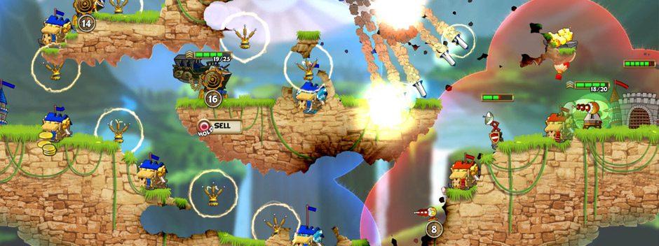 El frenético juego de estrategia en tiempo real Cannon Brawl llegará a PS4 el 3 de agosto