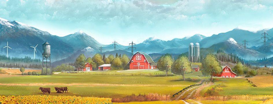 Farming Simulator 17 hace su debut con un 'gameplay'