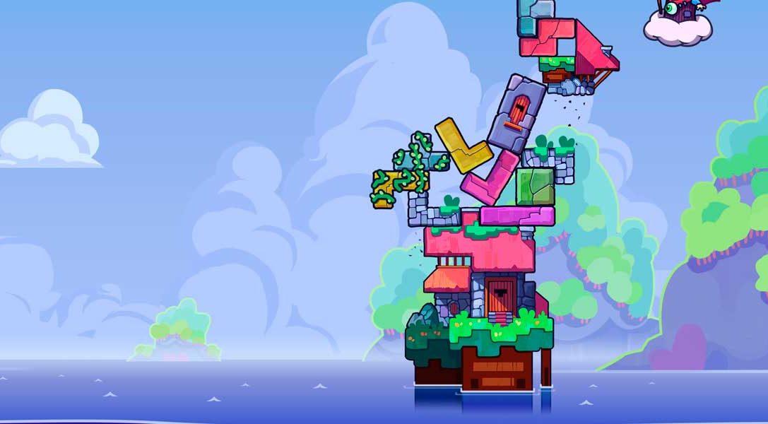 Tricky Towers llega el 2 de agosto a PS4 con una acción multijugador frenética