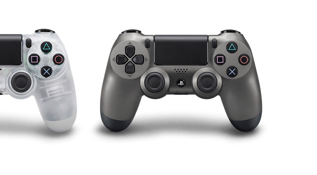 Los mandos inalámbricos DUALSHOCK 4 Crystal y Steel Black ya están disponibles