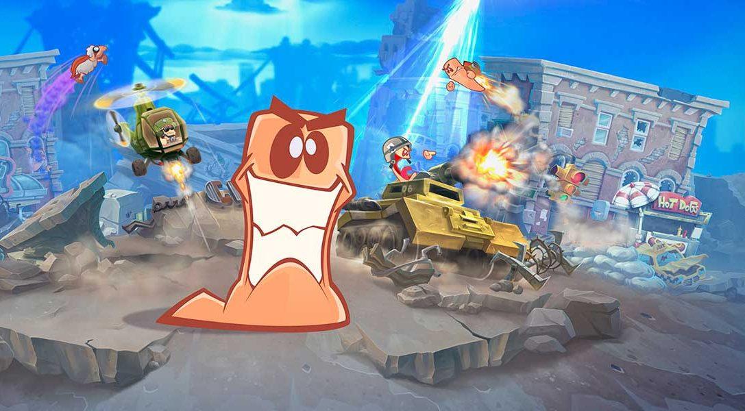 Worms W.M.D ya tiene fecha de lanzamiento en PS4: 23 de agosto