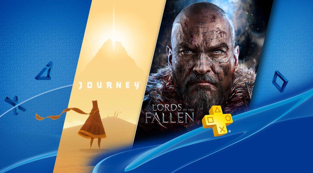 Journey y Lords of the Fallen disponibles con PlayStation Plus en septiembre