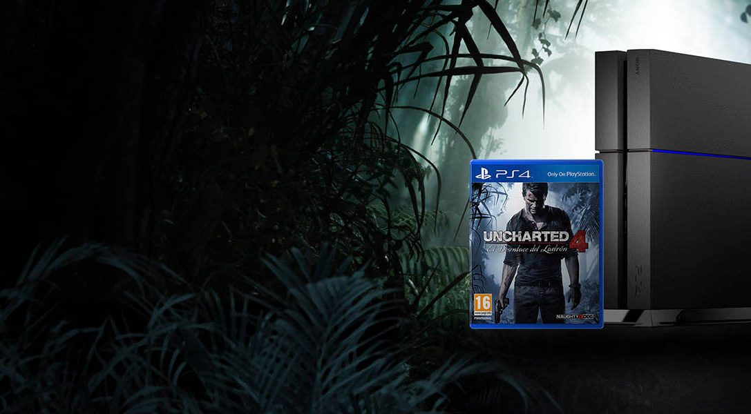 Llévate de regalo Uncharted 4 al comprar tu PS4: ¡Comienza la aventura!