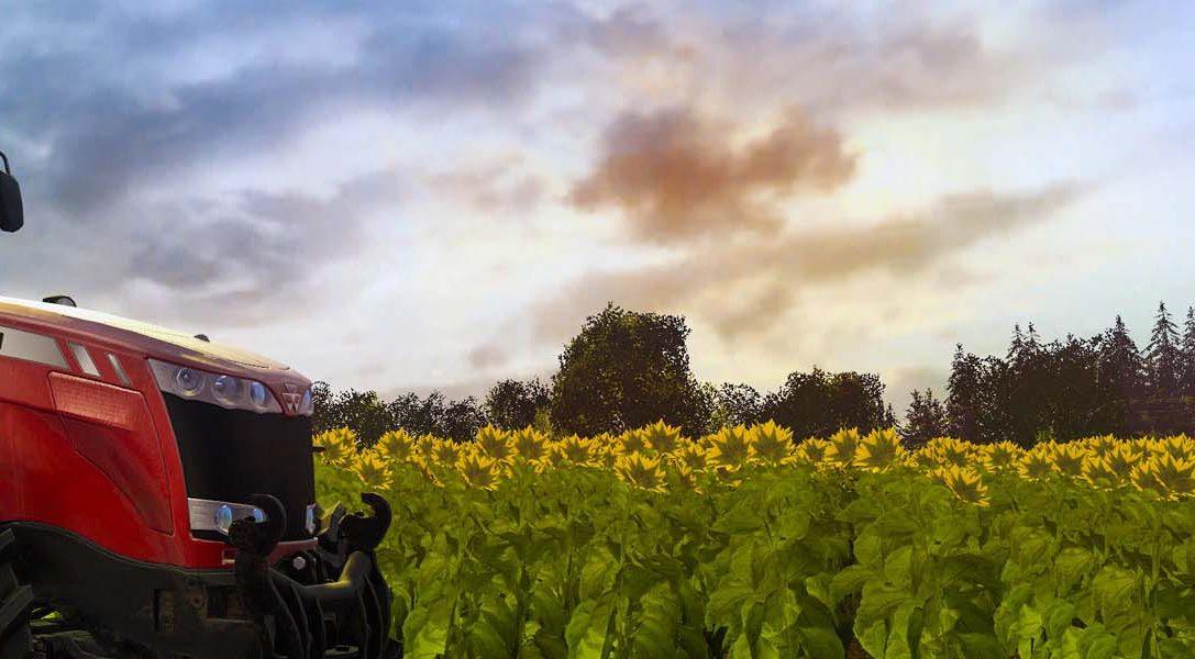 Farming Simulator 17 llega a PS4 en octubre con trenes, cerdos y mucho más