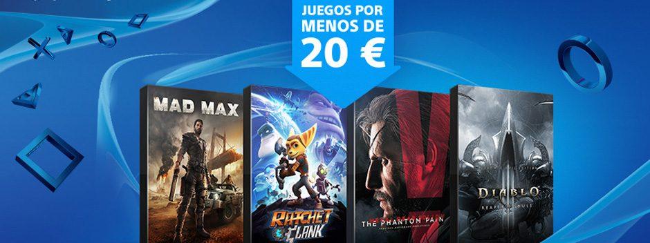 La promoción 'Juegos a menos de 20 €' arranca hoy