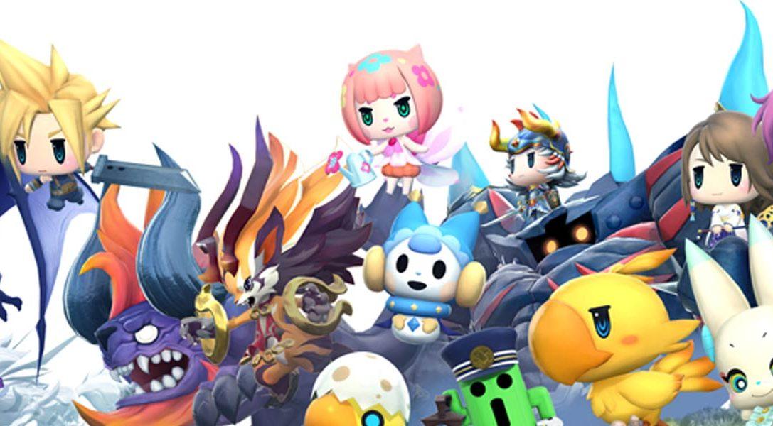 Os presentamos el tráiler de World of Final Fantasy de la TGS 2016