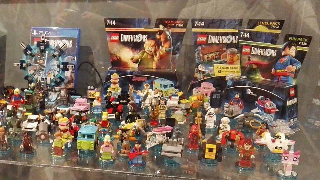 Montones de figuras y mucha diversión en la presentación de LEGO Dimensions