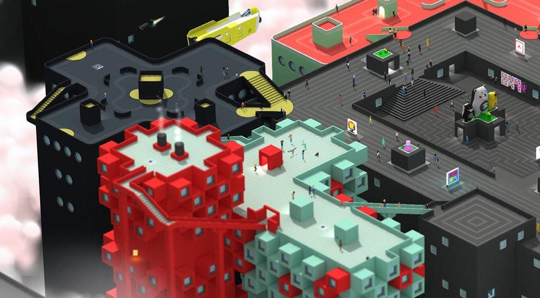 El estiloso shooter de mundo abierto Tokyo 42 llegará a PS4 en 2017