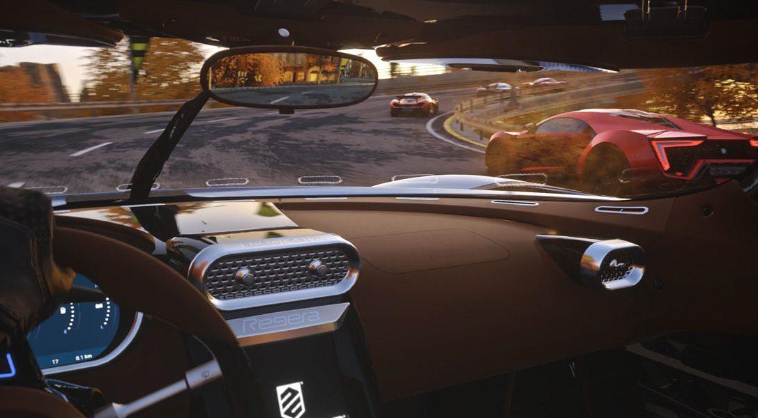Driveclub VR llega el 13 de octubre, con una opción de actualización para los que tengan un pase de temporada