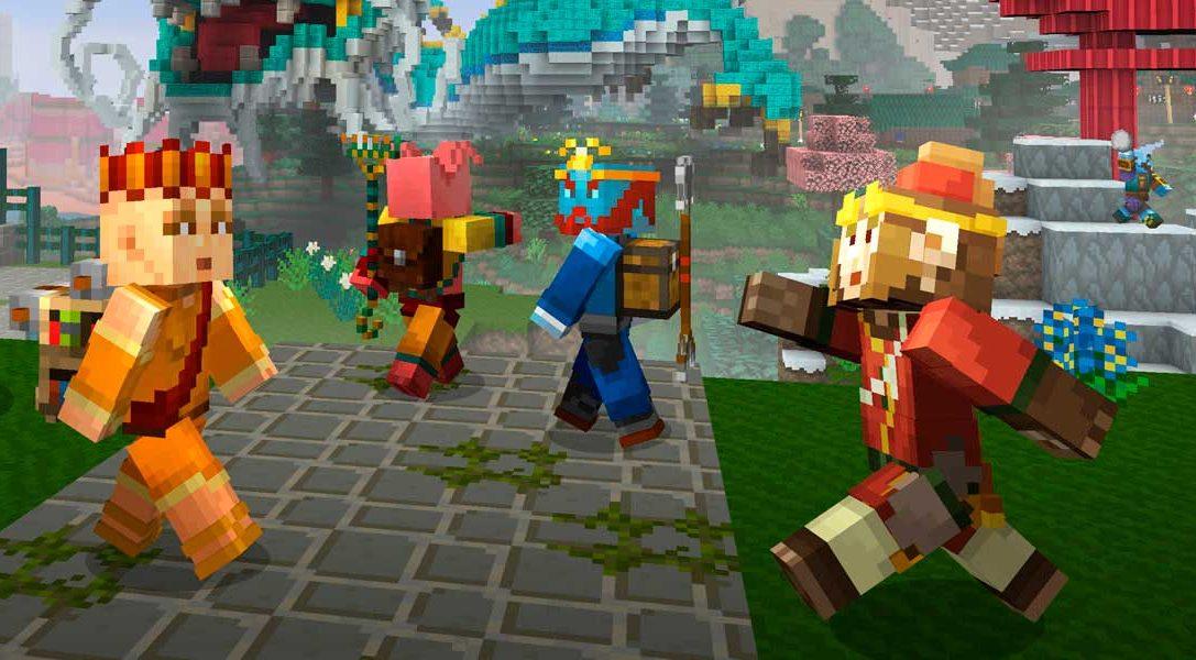 Explora el mundo antiguo en el pack de popurrí de mitología china de Minecraft