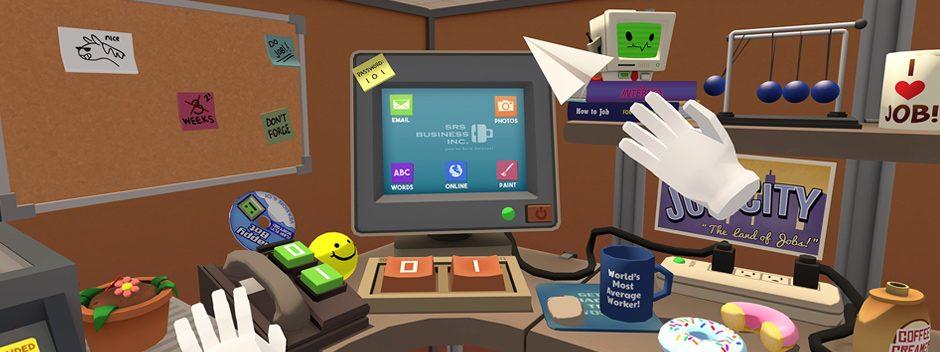 Disfruta del mejor día de trabajo de tu vida con Job Simulator para PlayStation VR