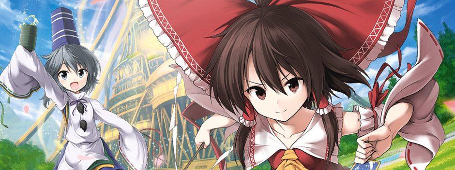 Touhou aborda el género de los juegos de rol roguelike el próximo febrero, en PS4 y PS Vita