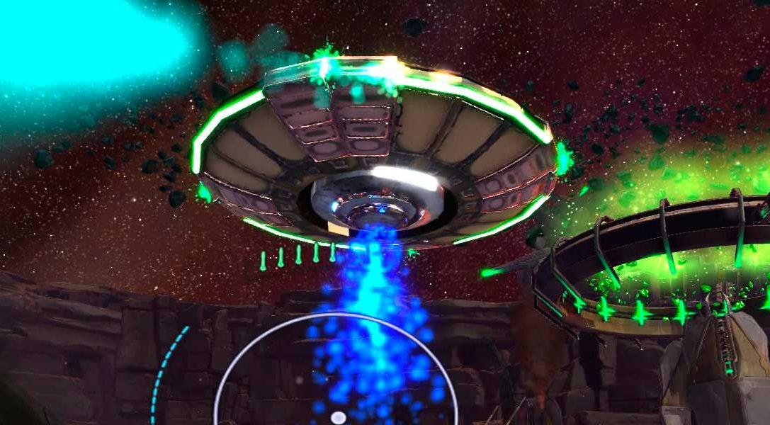 Super Stardust Ultra VR estalla con el lanzamiento de PlayStation VR