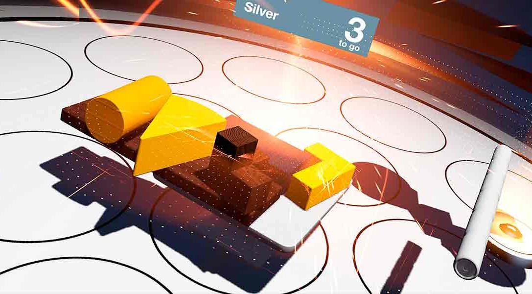 El juego de puzzles Tumble VR llega a PS V esta semana