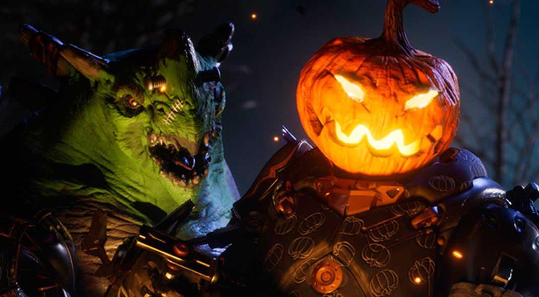 Paragon – Este mes llegan skins de temática de Halloween para este MOBA de PS4