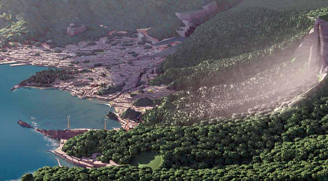 La creación de Karnaca en Dishonored 2: Skull Island (Isla Calavera) inspirada en Los Ángeles
