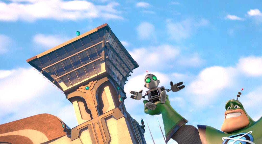 Ratchet & Clank: La película en DVD y Blu-ray