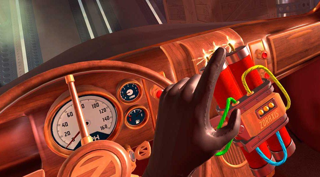 Las muertes abundan en el título de espías para PlayStation VR I Expect You To Die, a la venta en diciembre