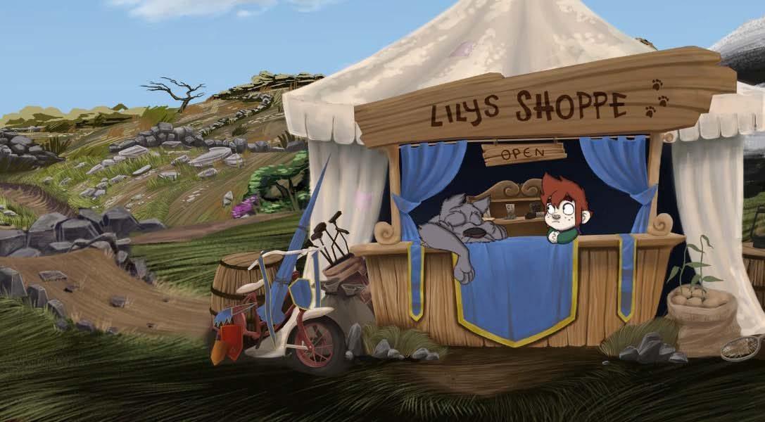 La aventura familiar hecha a mano The Little Acre llega a PlayStation 4 el 22 de noviembre