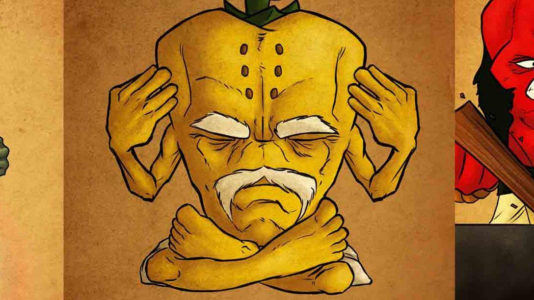 Kyurinaga's Revenge llega hoy a PS4