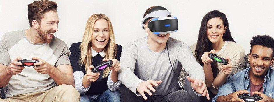 Gana una PS4 Pro, PSVR, 4K HDR TV y 16 juegos de PS VR en nuestra competición 'El futuro del juego'