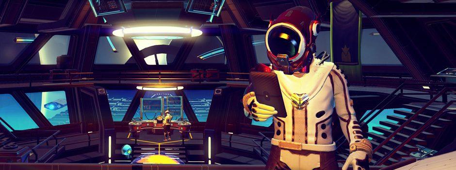 Actualización de No Man's Sky – Se añaden edificaciones base, nuevos modos de juego y buques de carga